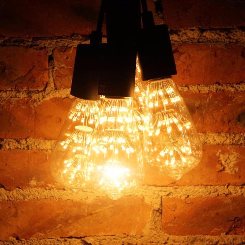Bombillas Led Lamp Vintage Edison Bulb 3W ST64 Incandescent Lighting Bulb Led E27 Edison  Filament Bulb Lights Tubes Ampoule Led (1)