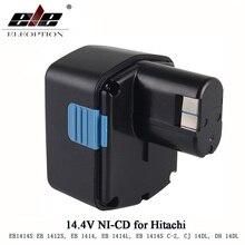 Перезаряжаемые для экскаватора Hitachi 14,4 V Battery1500mAh NI-CD для экскаватора Hitachi EB1414S EB14B EB1412S 324367 EB14S DS14DL DV14DL CJ14DL DS14DVF3