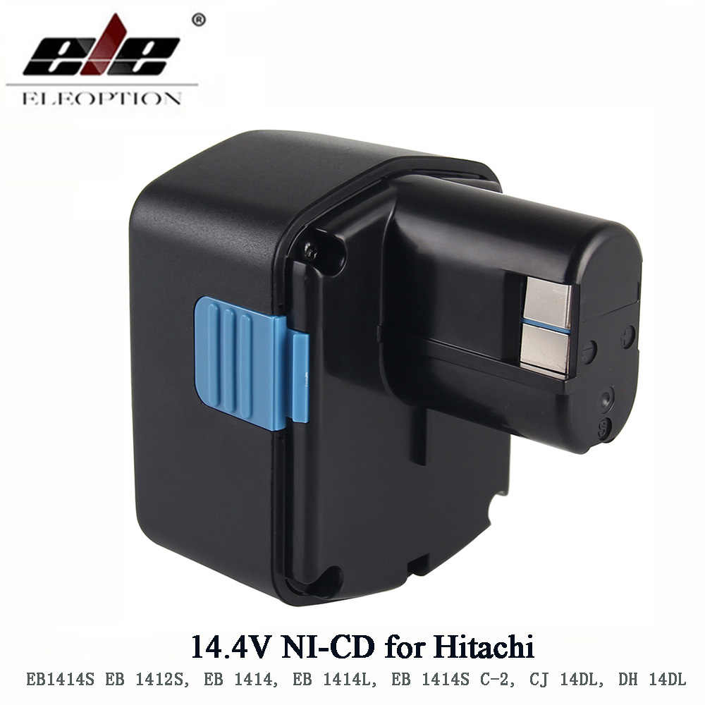 Перезаряжаемые для экскаватора Hitachi 14,4 V Battery1500mAh NI-CD для экскаватора Hitachi EB1414S EB14B EB1412S 324367 EB14S DS14DL DV14DL CJ14DL DS14DVF3
