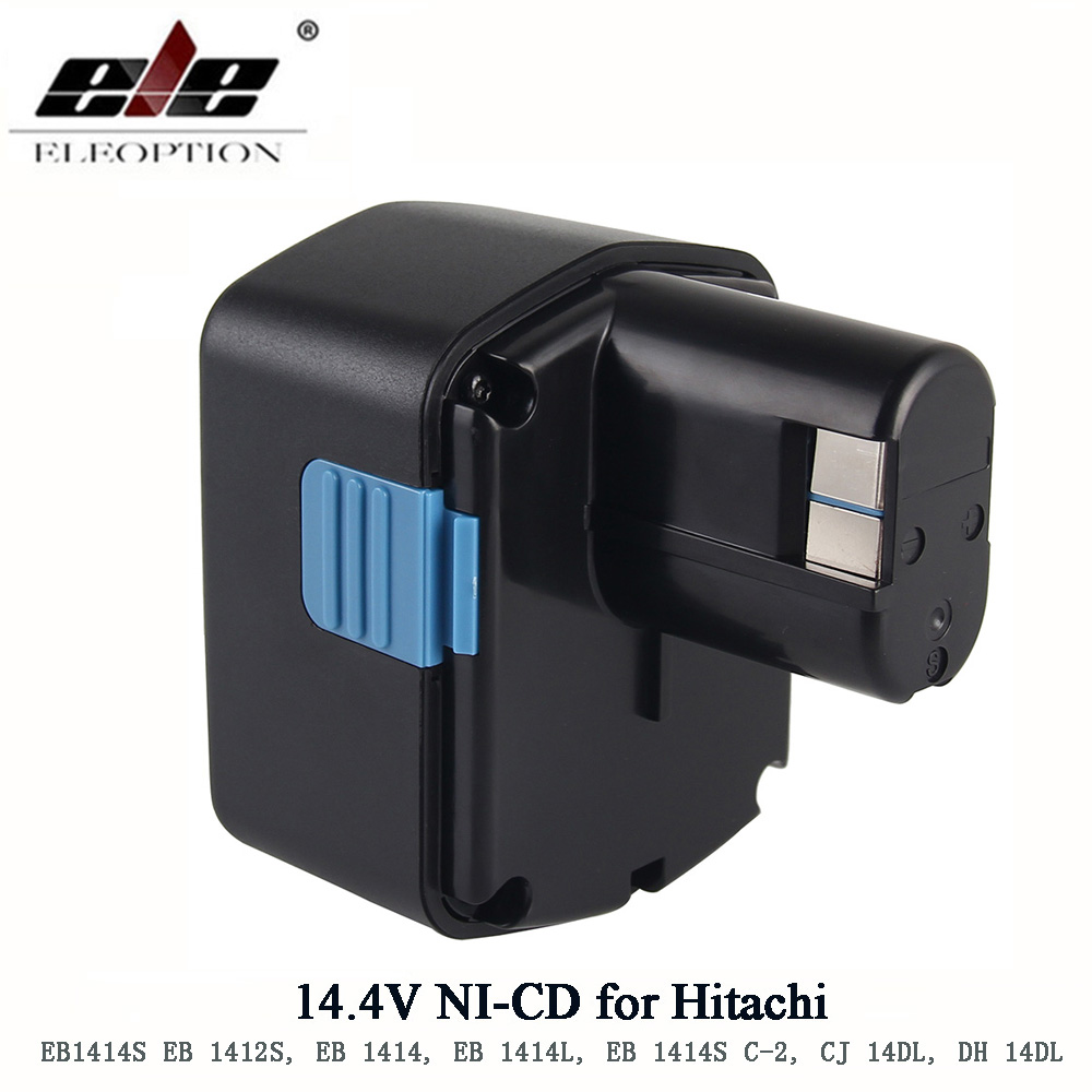 Rechargeable Pour Hitachi 14.4 V Battery1500mAh NI-CD pour Hitachi EB1414S EB14B EB1412S 324367 EB14S DS14DL DV14DL CJ14DL DS14DVF3Rechargeable Pour Hitachi 14.4 V Battery1500mAh NI-CD pour Hitachi EB1414S EB14B EB1412S 324367 EB14S DS14DL DV14DL CJ14DL DS14DVF3