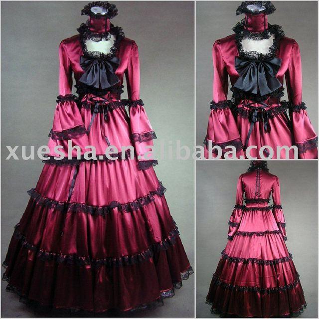 Einzig Victorian Corset Gothic Civil War Southern Belle Ball Gown ...