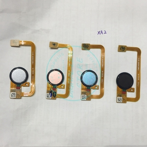 Image 1 - For Sony Xperia XA2 Fingerprint Scanner Touch Sensor for Xperia XA2 Scan Home Button Flex Cable Replacement Repair Spare Parts