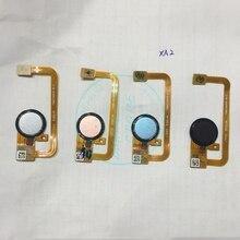 Đối với Sony Xperia XA2 Máy Quét Dấu Vân Tay Cảm Biến Cảm Ứng cho Xperia XA2 Scan Home Nút Flex Cable Thay Thế Sửa Chữa Phụ Tùng