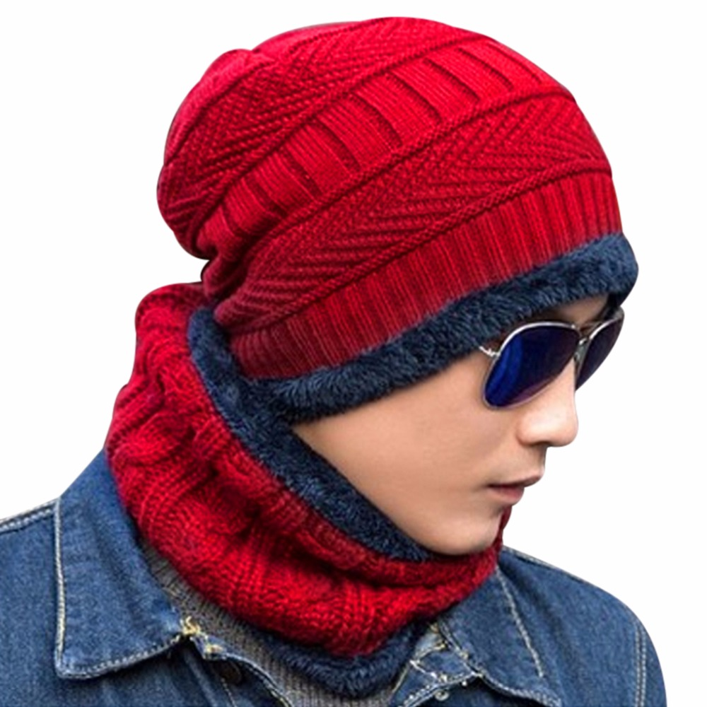 Fashion New knitted hat Beanies Knit Men's Winter Hat Caps Skullies Casual Warm Bonnet For Men Women Beanie Baggy Bouncy