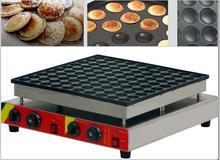 Livraison gratuite 100 pièces usage Commercial 110 v 220 v néerlandais crêpes fabricant antiadhésif Poffertjes Machine Mini gaufrier boulanger