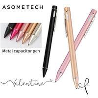 Sênior 1.45mm Lápis Stylus Capacitive Touch Screen Pen Para ipad pro ar de Alta Precisão Portátil W/DIODO EMISSOR de Luz USB para Android caneta
