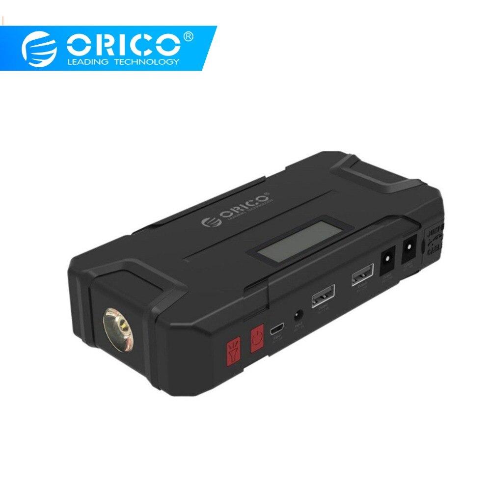 ORICO CS2 12000 mAh Mini chargeur portatif de secours Portable batterie Portable Booster d'urgence Buster batterie externe pour téléphone Portable voiture