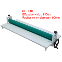Manual Cold Roll Laminator QH L48 cold heading machine 1.3m laminating Effective width laminating machine 1pc