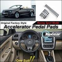 Litanglee Car Accelerator Pedal Pad / Cover of Original Factory Sport Racing Model Design For VW Volkswagen Golf 6 PLUS Tuning