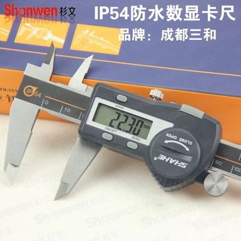 FREE SHIPPING SHAHE high quality stainless steel battle shah electronic digital caliper 150 mm 1pcs  cnc
