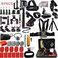 BYNCG GoPro Hero 5 Accessories Set for Go Pro Hero 5 4 3 Kit GoPro Mount SJCAM SJ4000 for xiaomi yi camera eken h9 tripod