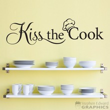 Removable English Letters - Kiss