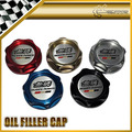 Car-styling para honda mugen engine oil filler cap aluminio anodizado jazz fit accord dc2 dc5