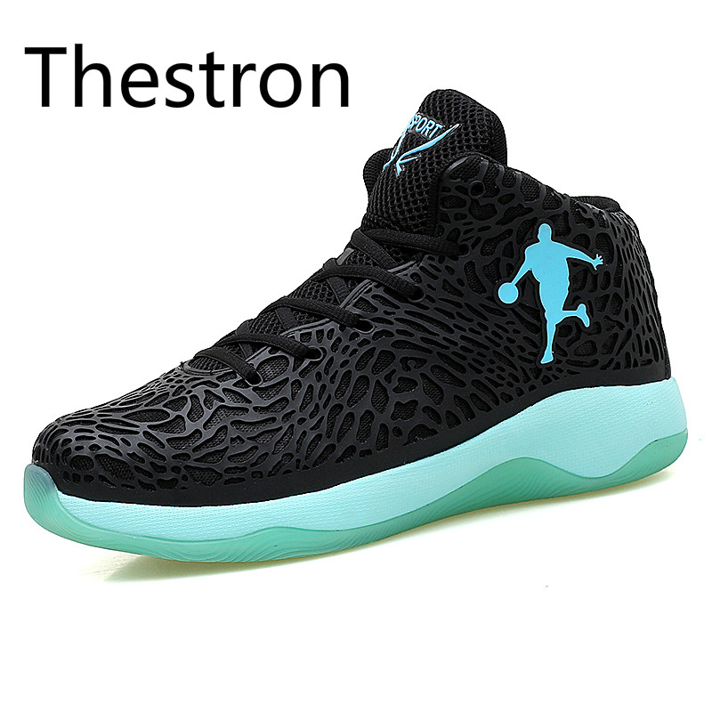 Basketball Shoes Men 2017 New Men Sneakers High Top Cushioning Breathable Stability Professional Sneakers China Sports Sneakers  new men s basketball shoes breathable height increasing wear resisting sneakers athletic shoes high quality sports shoes bs0321