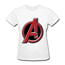 New York Marvel Avengers T-Shirt Women 100% Cotton Tops & Tees Girls Street T-Shirt Comfortable Discount Infinity War 3