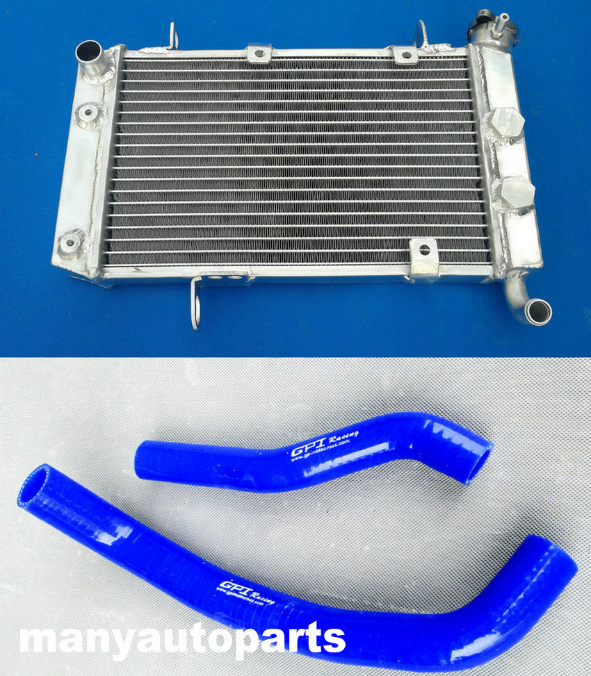 Aluminum Radiator for Suzuki LTZ400 KFX400 DVX400 2003-2008 2004 2005 2006 2007