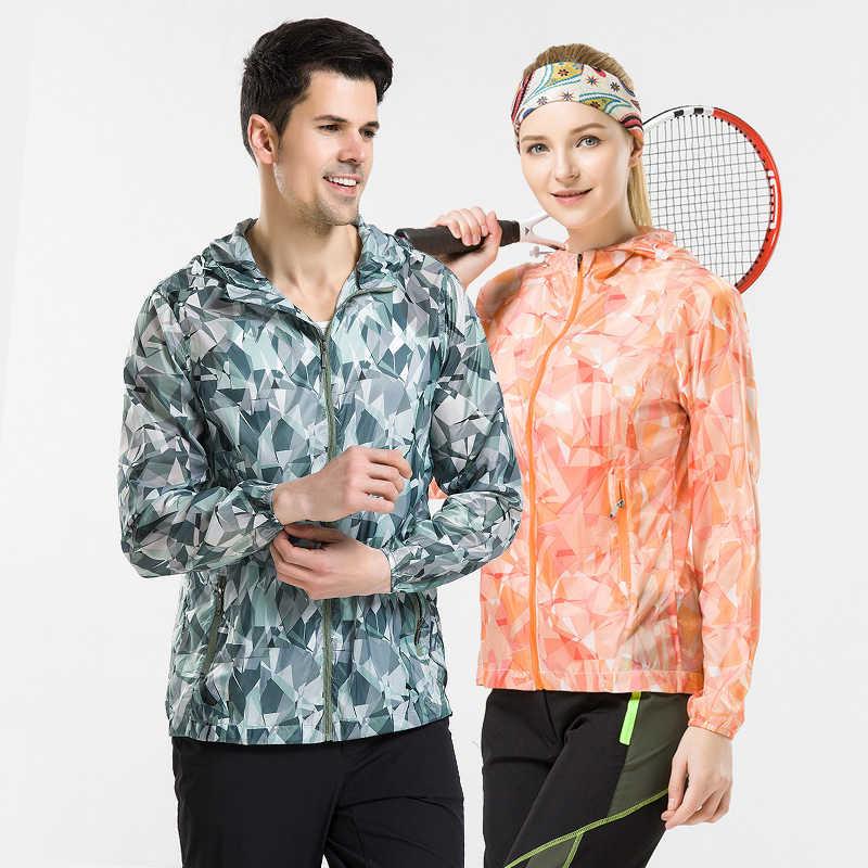 Пара ветровка куртки для женщин и мужчин весна лето кофты унисекс для женщин плюс размер повседневная Солнцезащитная одежда ультратонкие непромокаемые