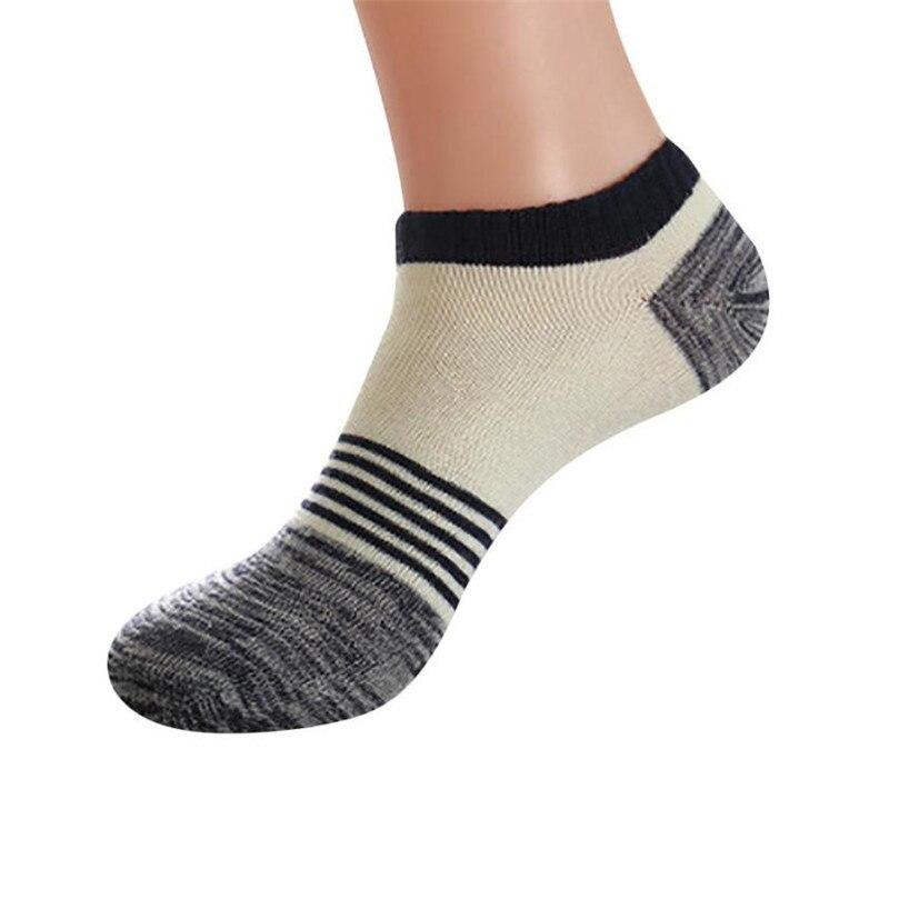Unisex Cute Retro Stripe Fashion Men Sock Comfortable Socks mens socks 2018MAR20