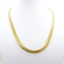 """Massive Mens Chain Yellow Gold Filled Solid Herringbone Necklace Accessories 24"""""""