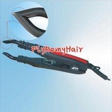 Wholesale-1pcs  Black    Adjust-Temperature Hair Extension Fusion Connector /  Fusion Iron/Black or Pink Color