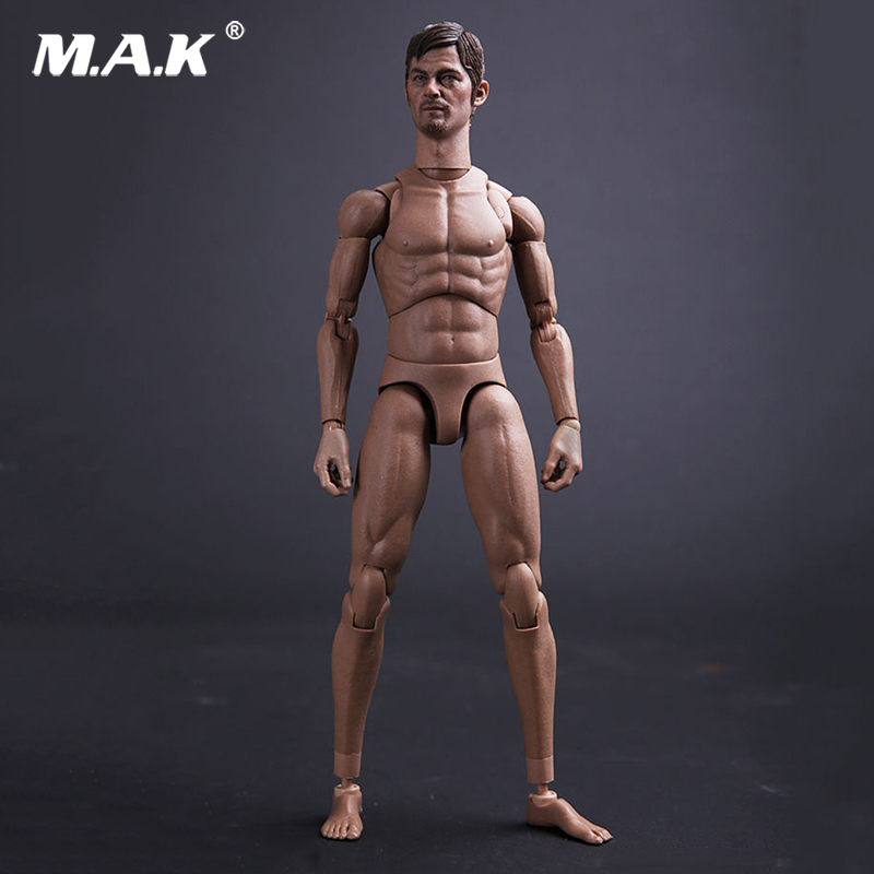 1:6 Scale Male 2.0 Narrow Shoulders Body Model for 12 inches Action Figure