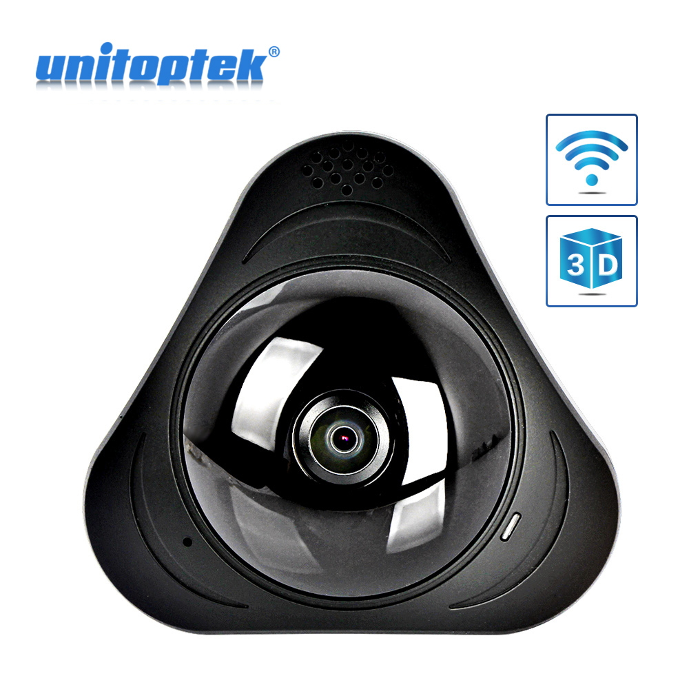 3D VR WIFI IP Camera Wireless 960P Panoramic 360 Degree View Mini CCTV Camera Network Home Security Camera WI FI YOOSEE