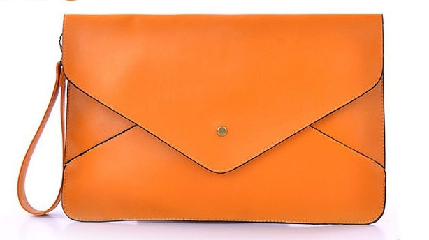 Women Bag 2016 PU Leather Promotion Envelope Bag Briefcase Clutch Bag Handbag Ten Colors