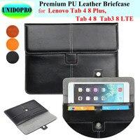 Premium PU Leather Slim Sleeve Bag For Lenovo Tab 4 8 Plus Tab4 8 Tab3 8