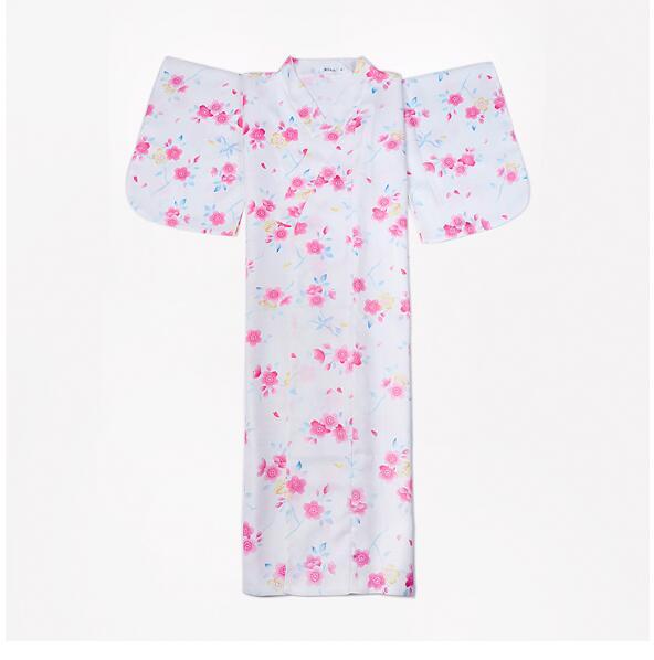 Kimono femme vêtement extérieur peignoir Costume fille robe douce Kimono japonais femme fleur Shoot vetement