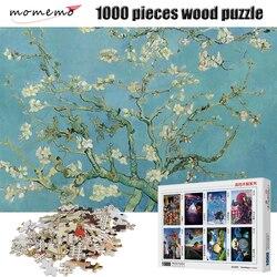 MOMEMO Fiori Rami Pittura Di Puzzle 1000 pezzi di Puzzle di Legno Puzzle di 1000 pezzi di Alta Definizione di Puzzle Per Adulti Giocattoli Per I Bambini