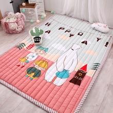 Infant Shining 145x195 CM Große Babyspielmatten Cartoon Teppich Rechteck Verdickung Decke Wohnzimmer Schlafzimmer Anti-skid-teppiche