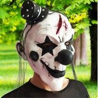 Gratis Verzending 2017 Hot Latex Masker DIY Halloween Decoratie Horror Clown Party Masker Kleding Cosplay Volwassen Volgelaatsmasker.-B