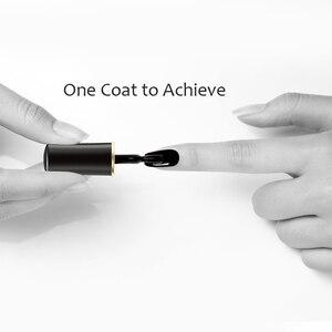 Глянцевый черный лак BORN PRETTY для ногтей, 6 мл, базовый черный Базовый лак для ногтей, лак для дизайна ногтей «сделай сам»