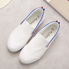 2016 canvas shoes women casual shoes fashion brand flat shoes woman white women shoes zapatos mujer chaussure femme z163
