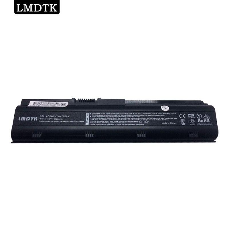 LMDTK nueva batería del ordenador portátil para HP pabellón g4 g6 g7 CQ32 CQ42 CQ62 CQ72 DM4 HSTNN-CBOX HSTNN-Q60C HSTNN-CB0W MU06 MU09 G32 G42 G62