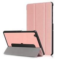Ultra Slim Custer 3 Folder Folio Stand PU Leather Magnetic Cover Case For LG G PAD