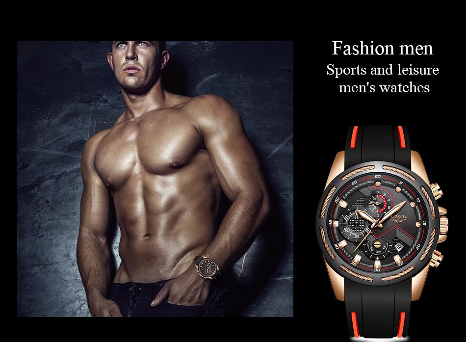 LIGE Reloj deportivo 7