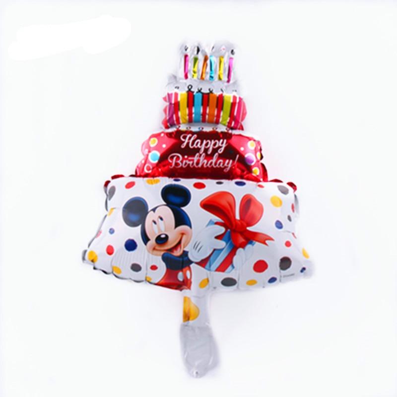 Все манеры Микки Минни воздушные шары на день рождения надувные декорации для вечеринки воздушные шары Детские Классические игрушки мультфильм шляпа - Цвет: 22