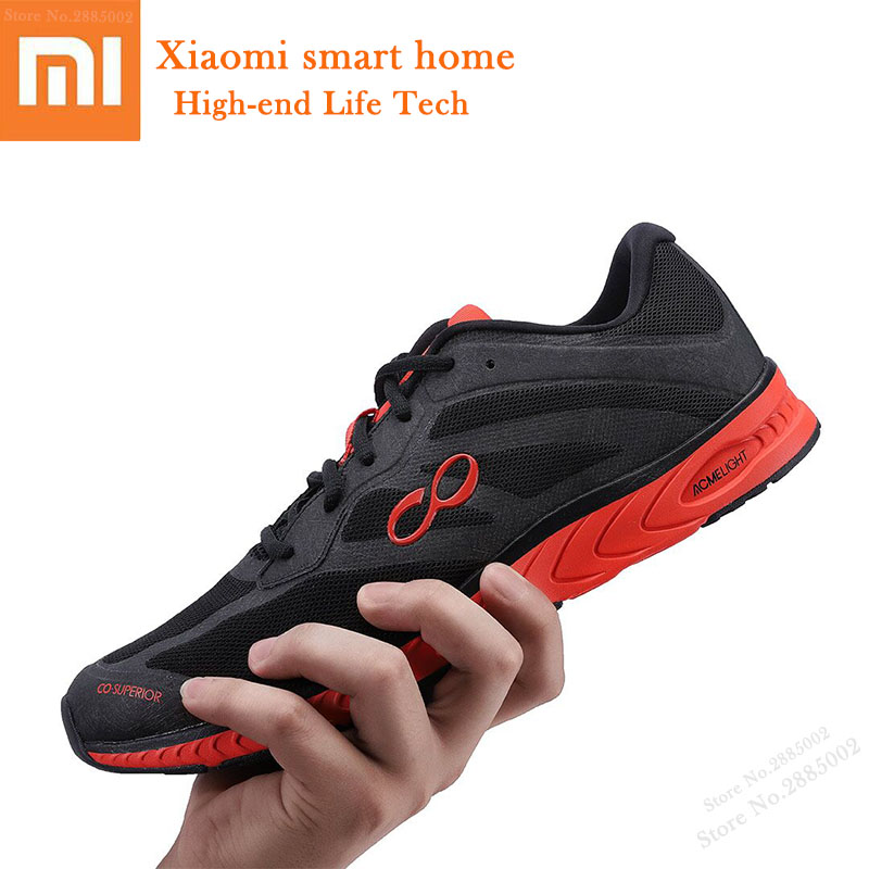 Xiaomi Smart Running Shoes 42K AI Smart Guidance Lightweight High-elastic Shock Absorb Sports Sneakers PK Amazfit Antelope Shoes