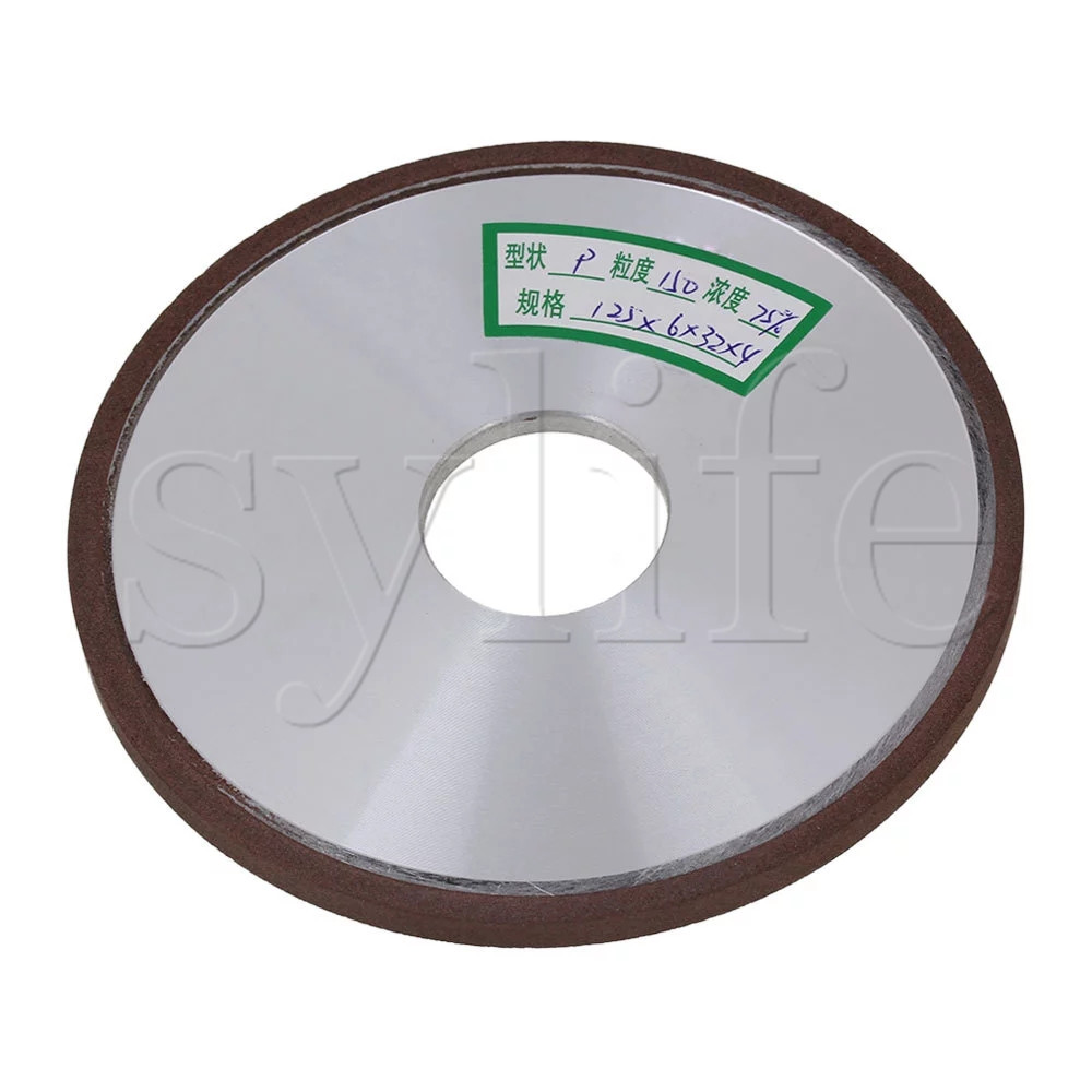 125mm Diamond Aluminum Resin Parallel Disc Grinding Wheel Grit 150# for Snagging beibehang european style damascus high end deerskin thick vertical stripes bedroom background living room wallpaper