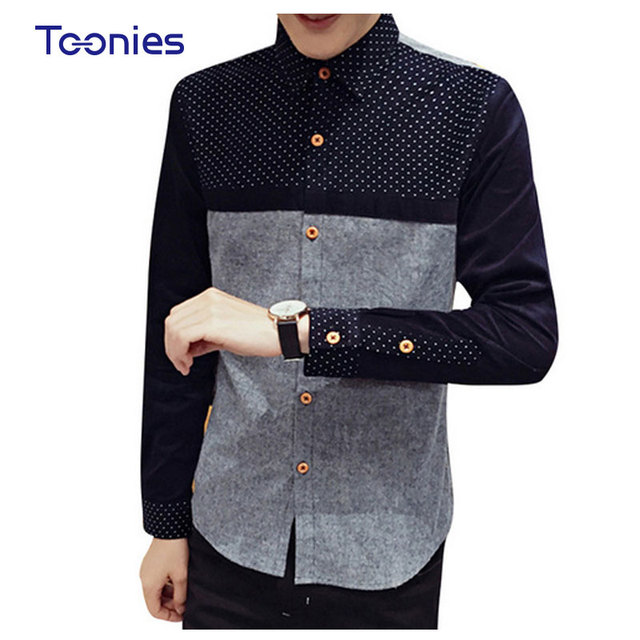 chemise homme slim casual hommes shirt british style. Black Bedroom Furniture Sets. Home Design Ideas