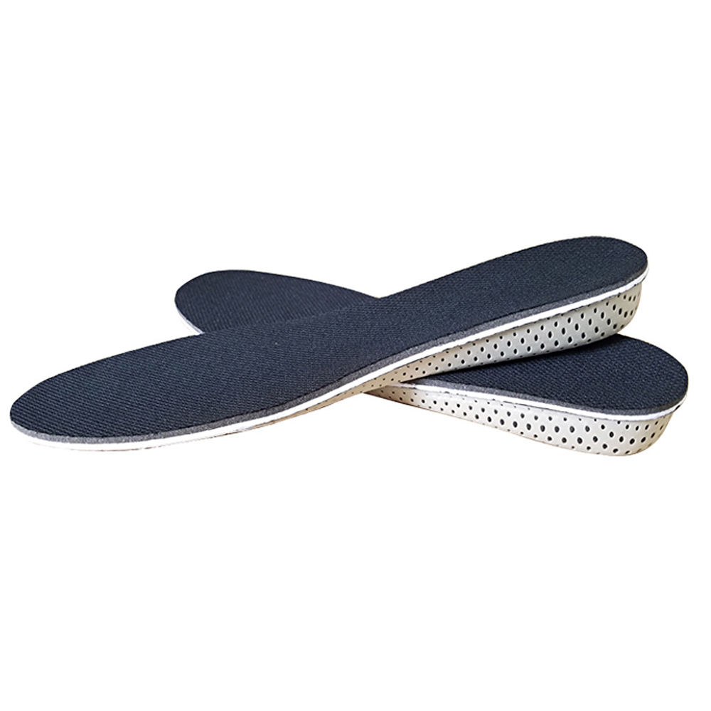 Air Cushion Height Plantar Increase Elevator Soft Shoe Insoles Lifts Pad Taller