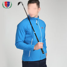 Men's Golf Apparel Male Golf Fashion Jacket Outdoor Sports Turnover Full Sleeve Windbreaker Ball Suit 5 Color Tops Free Shipping(China)