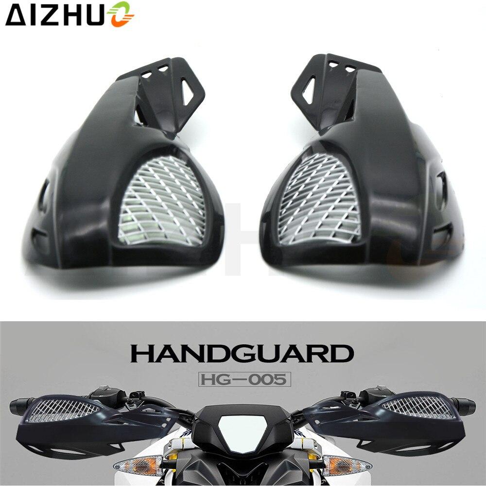 Acz Universal Motorcycle Hand Guard Abs Handguard Wind Protector Windshield Nmax 40cm Sporty For Yamaha Fz1 Honda Pcx Ktm Exc Dirtbike 22mm 7 8