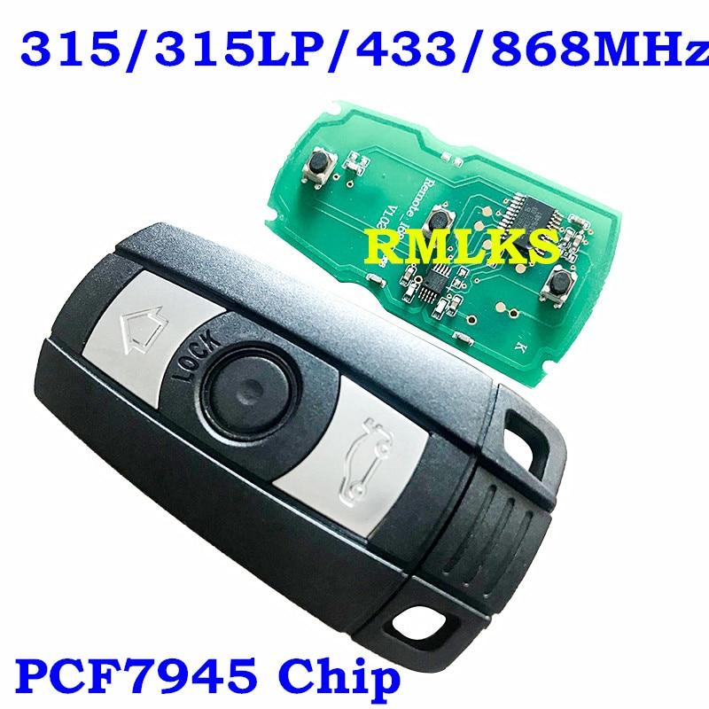 RMLKS 3 Tasto Chiave A Distanza Dellautomobile Misura Per BMW Smart Card 315 mhz 433 mhz 868 mhz PCF7945 Chip Uncut HU92 Lama CAS1 CAS2 CAS3 SistemaRMLKS 3 Tasto Chiave A Distanza Dellautomobile Misura Per BMW Smart Card 315 mhz 433 mhz 868 mhz PCF7945 Chip Uncut HU92 Lama CAS1 CAS2 CAS3 Sistema