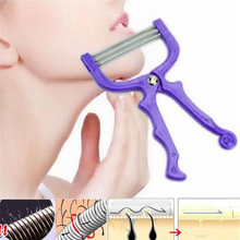 Handheld Facial Hair Removal Threading Spring Rolled Face Beauty Epilator Tools Make Up Care Massager
