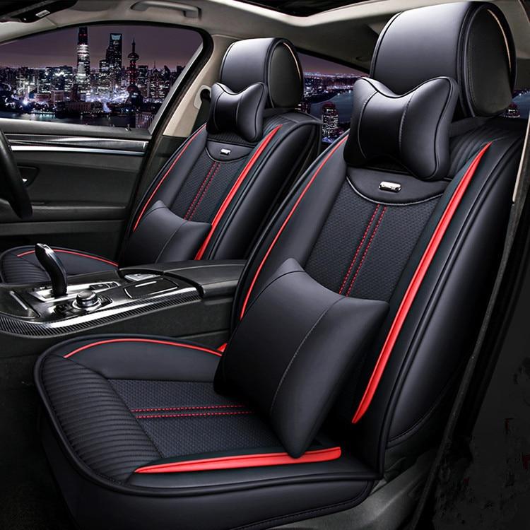 Haute qualité! Housses de siège de voiture complètes pour Cadillac SRX 2015-2009 housses de siège confortables et respirantes pour SRX 2012, livraison gratuite