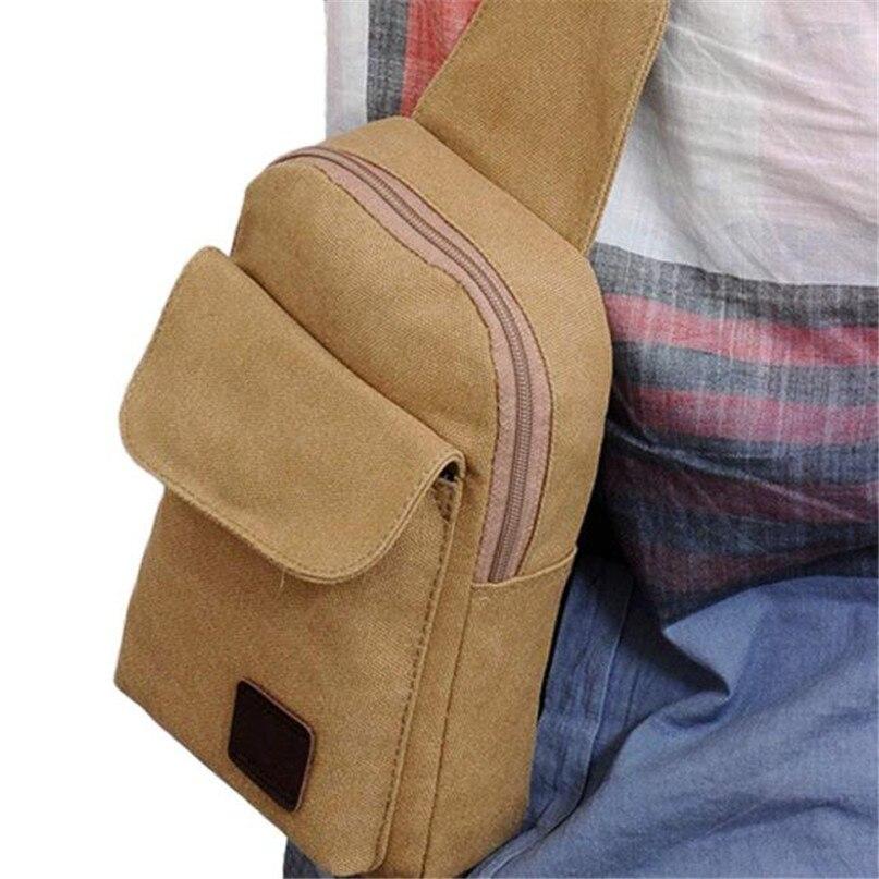 Multifunction Diagonal shoulder chest bag sports bag Men Outdoor Sport Leg Bag Canvas Waist Bag Money Belt Fanny Pack #2a (4)