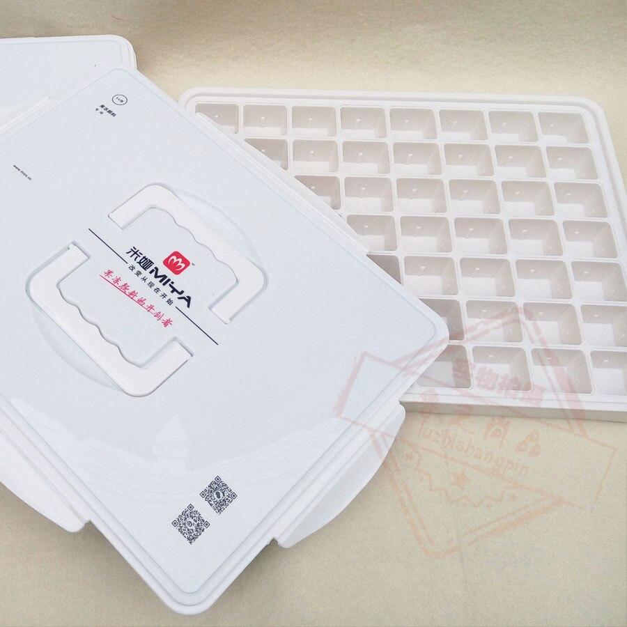 цена Free shipping anniversary celebrate Hot style portable Art supplies ABS box  pigment box 56 grid онлайн в 2017 году