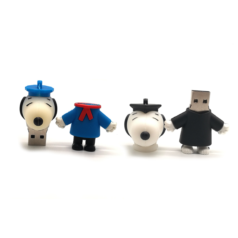 ALI shop ...  ... 32969450800 ... 4 ... Pendrive cartoon dogs usb flash drive 4GB 8GB 16GB 32GB 64G real capacity memoty stick cute Doctoral dog creative gift pen drive ...
